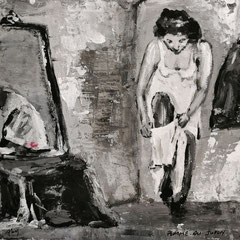 Femme au jupon (vendu)