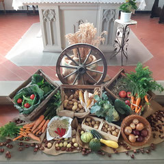 Erntedank-Altar 2019