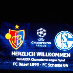 CL FC Basel vs. FC Schalke 04