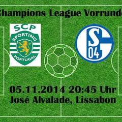 CL Sporting Lissabon vs. FC Schalke 04