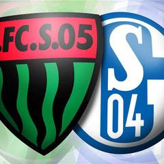 DFB-Pokal FC Schweinfurt 05 vs. FC Schalke 04