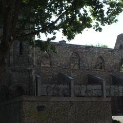 St. Christoph, frühgotische Kirche, zerstört 1945
