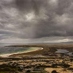 Típico paisaje malvinense. Isla Soledad ( East Falkland )