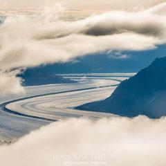 Autopistas de hielo. Kluane National Park.