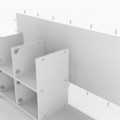 Schränke und Küchen selber bauen - korpus-Schranksysteme