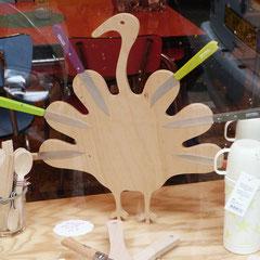 porte couteaux mural - dindon magnetik - multipli de hêtre - bois PEFC aimanté