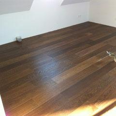Bourgogne vloer in eiken I Bis, Gerookt geolied met floorservice hardwaxolie pro