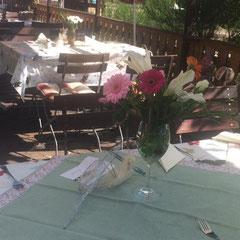 Sommerfest im Gasthaus