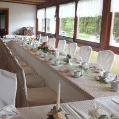 Thüringer Gastlichkeit in der Gaststätte  Krinitzenstube