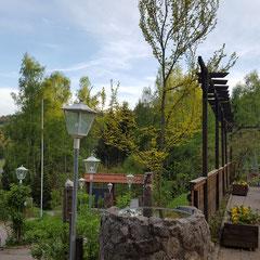Terrasse Gasthaus Krinitzenstube