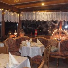 Weihnachtszeit im Restaurant Krinitzenstube
