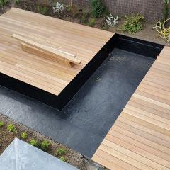 espace terrasse / jardin - Les Jardins de la Scarpe - Paysagiste ...