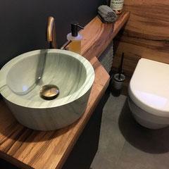 Einrichtung Gäste-WC // Beratung • Planung • Ausführung