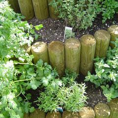 Unsere Kräuterspirale lässt Ihr Grünzeug garantiert gedeihen