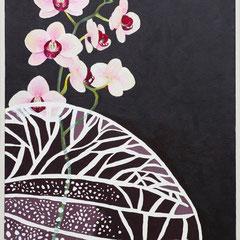 Orchidee, 60 x 80 cm