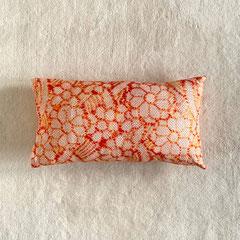 Kissen aus japanischer Shibori-Seide