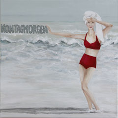 Sea-Serie: Montagmorgen, 30 x 30 cm