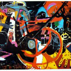 Japanerbild Schlussversion, Kollektiv Herzogstrasse, 1976-77