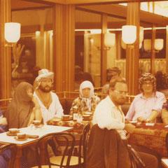 Das Kollektiv in Ankara zu Gast bei Sultan Amok Inferno, 1979