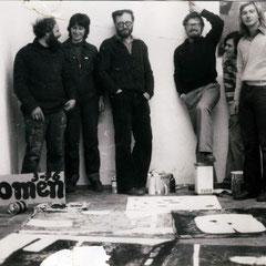 1.Sitzung des Kollektiv Herzogstrasse 1976