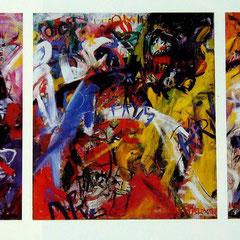 Triptychon, Kollektiv Herzogstrasse, 1976-77
