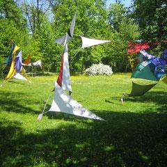 """""""Farbzeit"""" Installation 2011"""