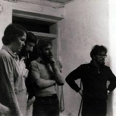 Das Kollektiv im Atelier, Barerstr. 34, München, 1977