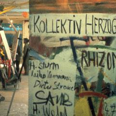 Kollektiv Herzogstrasse, Aufbau von Rhizom