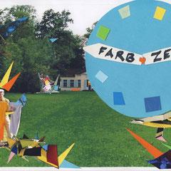 """""""Farbzeit"""" Collage 2011"""