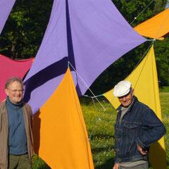"""""""Farbzeit"""", Bilder, Armin Saub und Heinz Weld, 2011"""