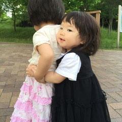 大好きなお姉ちゃんに会うために産まれてきたりんりん。