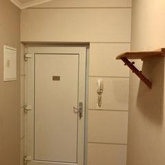 Dekorative Gestaltung im Vorzimmer