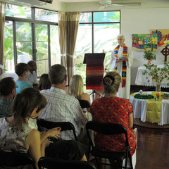 Gottesdienst in Bangkok