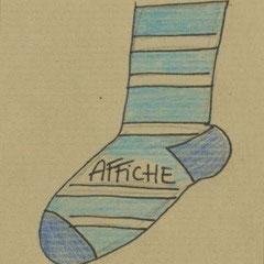 Affiche - A petits pas de Florence A.L. Klein - Infusion asbl