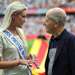 Christelle ROCA - Miss Prestige 2012 et Christian BOURQUIN