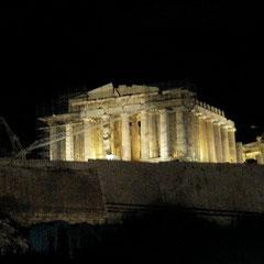 Het Parthenon in Athene.