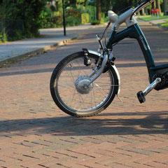 Van Raam Easy Rider met ombouwset voorwiel motor van FON