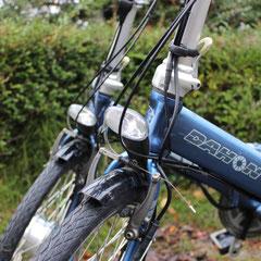 Dahon-Vouwfiets-Voorwielmotor-Ombouwset-Elektrische-Fiets van FON