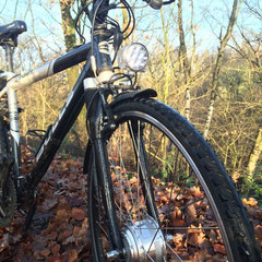 Bulls 700s fiets met ombouwset voorwiel motor van FON