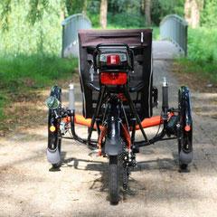 Scorpion FX met ombouwset voorwiel motor van FON