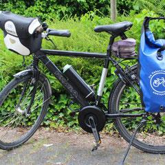 Koga Miyata Traveller met Pendix eDrive ombouwset Middenmotor van FONebike Fiets Ombouwcentrum Nederland Arnhem Gelderland