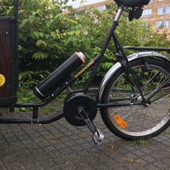 Christiania Bikes Rolstoelbakfiets met Bafang Middenmotor van FON Fiets Ombouwcentrum Nederland