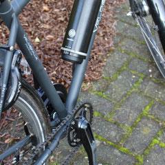Velo de Ville met Pendix eDrive ombouwset Middenmotor van Fiets Ombouwcentrum Nederland fon.bike