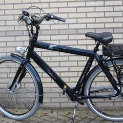 Sparta Leopard fiets met ombouwset voorwiel motor van FON