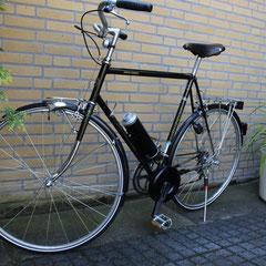 Koga Miyata Gents Touring met Pendix eDrive ombouwset Middenmotor van FONebike Fiets Ombouwcentrum Nederland Arnhem Gelderland