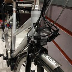 Batavus-X-Light-Sport fiets met ombouwset Middenmotor van FON