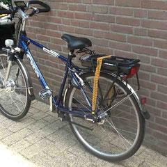Cyco fiets met ombouwset voorwiel motor van FON