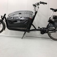 Gazelle Cabby Bakfiets met Bafang BBS ombouwset middenmotor van FON.bike