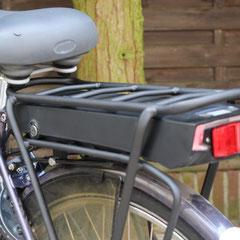 Batavus Stabila fiets met ombouwset voorwiel motor van FON
