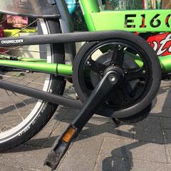 Batavus Transport fiets met ombouwset Middenmotor van FON
